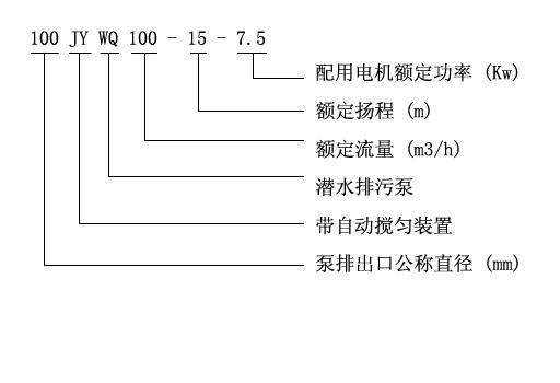 jywq型自动搅匀潜水排污泵-工程排污泵-上海汉沧泵业